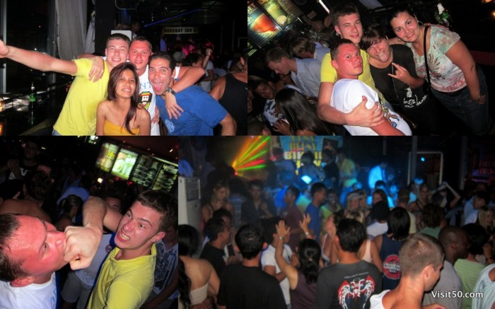 Kuta nightlife in Bali, Indonesia - at Sky Garden, 61 Legian, & Bounty. nightlife in Kuta photo