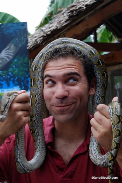 Python in Bohol, Philippines