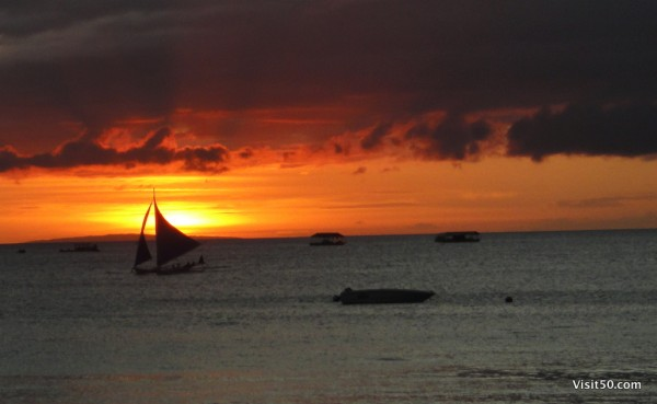 Boracay sunset - Philippines