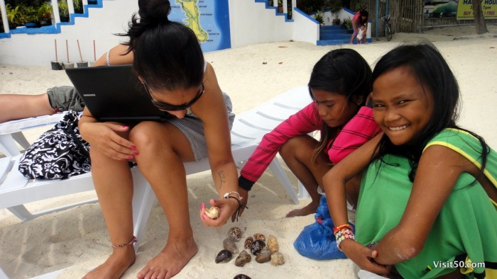 The moral dilemma of buying shells from kids
