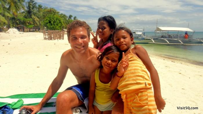 Meet my new friends - Malapascua, Philippines - Visit50.com