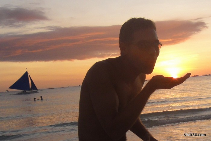 Sunset Silhouettes - Boracay Beach -007