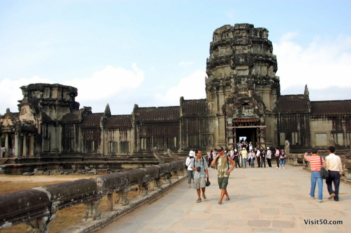 """Angkor Wat"" translates to The city that is a temple - Visit50.com"