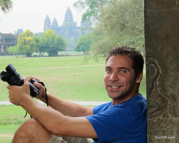 Angkor Wat, in Siem Reap, Cambodia