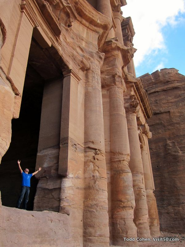 The Monastery is massive - Petra, Jordan