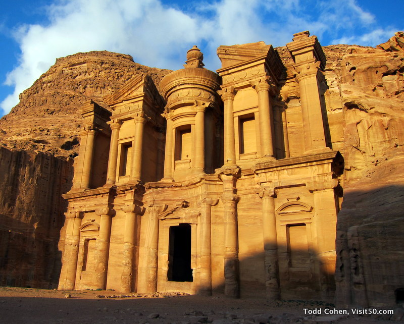 The Monastery at Petra, The Monastery of Petra, (aka Ad-Dayr or Ad-Deir in Arabic), in Jordan