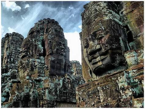 Bayon Cambodia -003